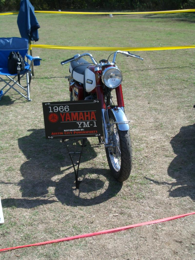 Finshed bike at the show